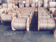 Chiny ASTM A 475 Galvanized Guy Wire / Steel Cable Wire With Excellent Anti Rust Performance fabryka