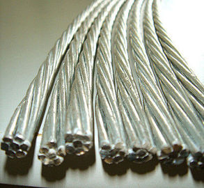0.5mm-5.0mm Galvanized Steel Cable Wire Rod , Tensile Strength 1000-1750 MPA
